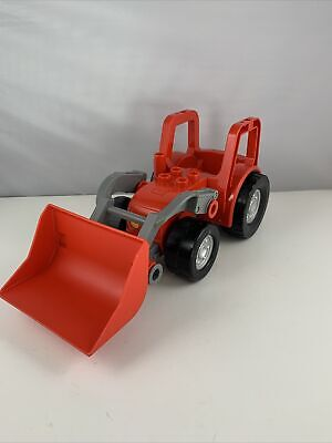 AU23.39 • Buy Lego Duplo Red Tractor With Front End Loader