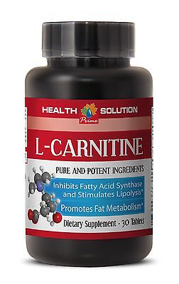£11.58 • Buy Extra Strength L-Carnitine 500 Mg Fat Burn Powerful Formula Max Muscle 1 Bottle