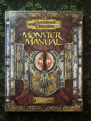 AU40 • Buy Dungeons And Dragons: Monster Manual - Core Rulebook III V.3.5