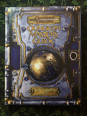 AU45 • Buy Dungeons And Dragons: Dungeon Masters Guide - Core Rulebook II V.3.5
