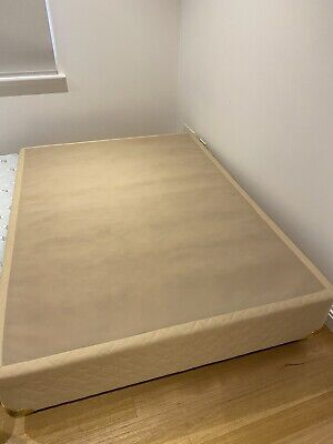 AU100 • Buy Double Bed Base With Drawer - New NEW Condition, Gold Color.