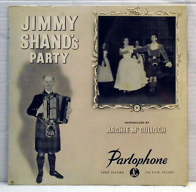 £5 • Buy Jimmy Shand's Party 10  Vinyl LP Record Parlophone PMD 1043