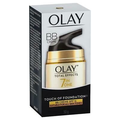 AU20.99 • Buy Olay Total Effects 7 In One Touch Of Foundation Face Cream BB Crme SPF 15 50g