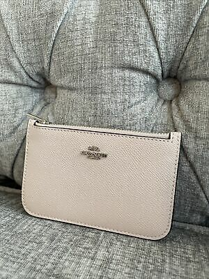 £15 • Buy Coach Two Tone Pink Card Holder Case Coin Purse Wallet Used Once