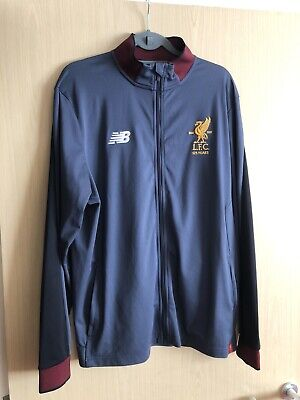 £19.99 • Buy 125 YEARS 1892-2017 New Balance Liverpool FC Home Training Track Suit Top XL