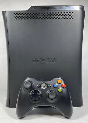 AU99.95 • Buy Xbox 360 Black Elite Console 120GB Complete With Cables And Controller