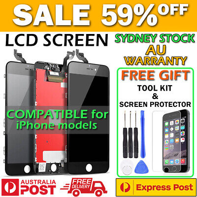 AU38.89 • Buy IPhone 7 Plus 8 5 S 6 6S ALL-IN-ONE FULL ASSEMBLY LCD Touch Screen Replacement