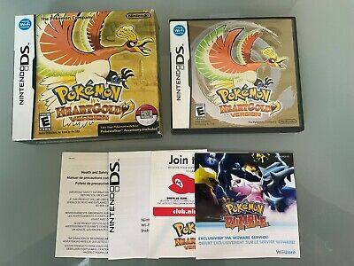 $139.99 • Buy Pokemon HeartGold BIG BOX Game Case & Inserts Only Authentic No Game