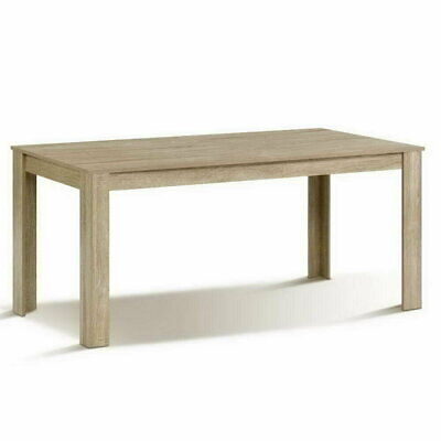 AU183.99 • Buy New Dining Table 6-8 Seater Wooden Kitchen Tables Oak 160cm Cafe Restaurant