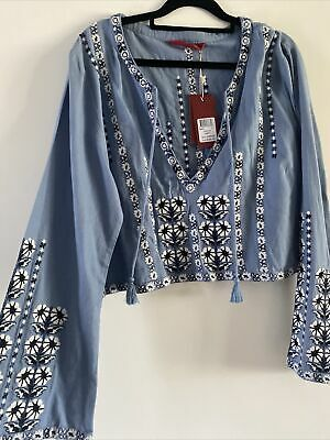 AU50 • Buy Tigerlily Long Sleeved Top Size 14