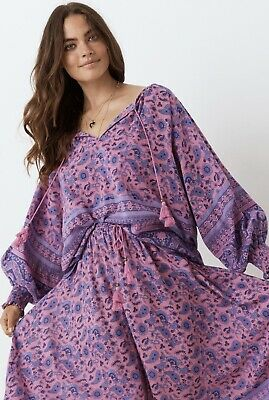 AU100 • Buy Spell Designs Journey Blouse Mulberry