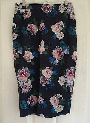 AU5 • Buy Forever New Floral Pencil Skirt Size 6