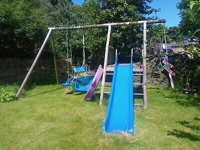£0.99 • Buy TP Climbing Frame - Sherwood Deck And Double Swing