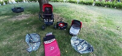 £19 • Buy Jane Trider 3 In 1 Travel System With Car Seat And ISOFIX Base, Buggy, Pram
