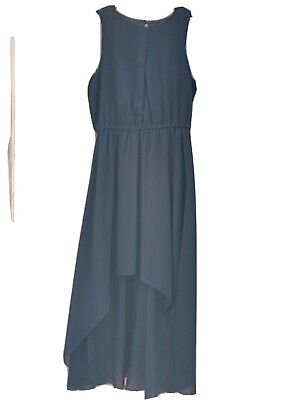 £3 • Buy Teen Girls Dress Age 14-15, New Look, Blue, High-low Hem, Party/Prom/Occasion...