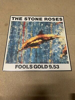 £45 • Buy -The Stone Roses-Fools Gold 9.53-ORE T 13-; BLACK BARCODE NR Mint Vinyl
