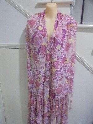 AU19.99 • Buy ROCKMANS SIZE 12 DusTy Pink Lemon LIned Cocktail Special Occasion DRESS & SHAWL