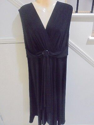 AU19.79 • Buy Stitches Size 16 Black Cocktail Special Occasion Dress