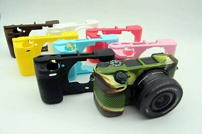 AU13.34 • Buy For Sony ILCE-6300 A6300 Soft Silicone Camera Protective Case Cover Skin