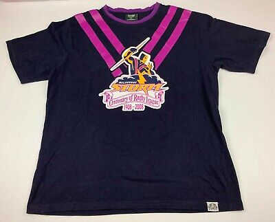 £52.96 • Buy Melbourne Storm Centenary Of Rugby League T Shirt NRL Size XL