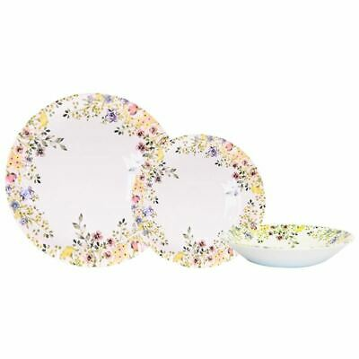 AU79 • Buy Queens By Churchill - 12pc Dinner Set Wildflower Bloom (Made In England)