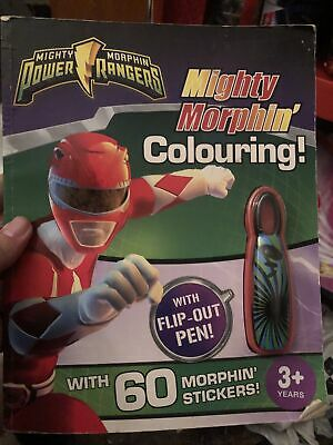 £6.99 • Buy Mighty Morphin Power Rangers Colouring Book Vintage