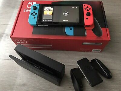 AU250 • Buy 256GB Nintendo Switch Neon Joy-Con Console With Extra Controllers