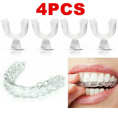 AU4.43 • Buy 4 X Teeth Whitening Mouth Trays Guard Shields Gum Moulds Remouldable Bleaching
