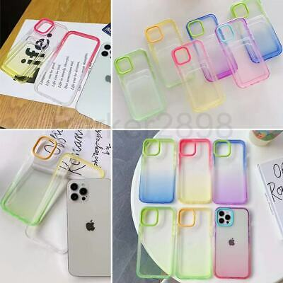 AU9.33 • Buy For IPhone 13 12 11 Pro Max XS XR 8 7 Plus SE2 Shockproof PC TPU Card Slot Case