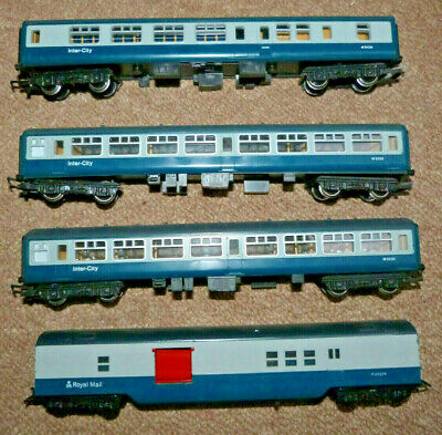 £8 • Buy Tri-ang/Hornby 00 Gauge MKII BR Coaches Blue/Grey - Choose From List