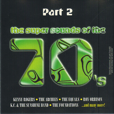 £2.19 • Buy Super Sounds Of The 70s Part 2 Cd Gbs3 Kenny Rogers, Foundations, Roy Orbison...