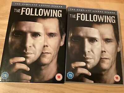 £4.50 • Buy The Following Season 2 DVD With Slip Cover