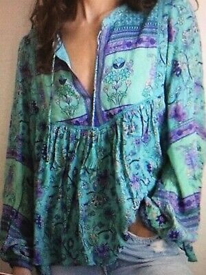 AU450 • Buy Spell And Gypsy Design Long Sleeve BlouseTop XL NWOT