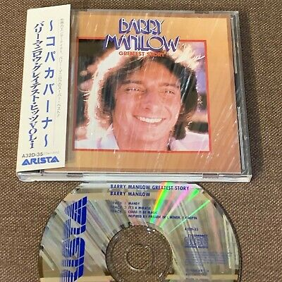 £25.41 • Buy BARRY MANILOW Greatest Story JAPAN CD A32D-35 W/OBI +PS BOOKLET 1988 Issue 3200y