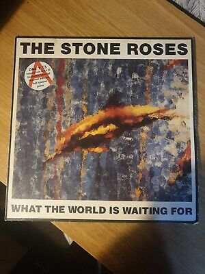 £60 • Buy The Stone Roses - What The World Is Waiting For (12 ) Fools Gold W Print Vinyl