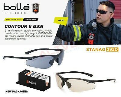 £6.99 • Buy Bolle CONTOUR BSSI Tactical Safety Glasses Ballistic Eyewear Filter 99.99% UV