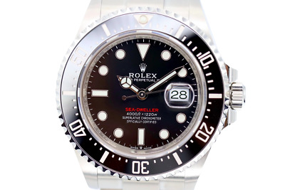 £11995 • Buy Rolex Sea-Dweller Red Writing 43mm Stainless Steel 126660