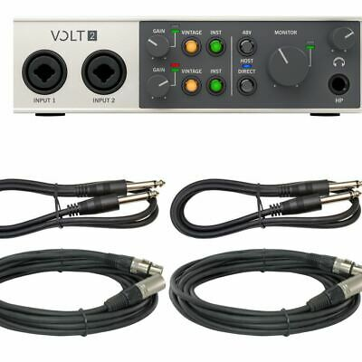 AU251.65 • Buy New Universal Audio Volt 2 - Volt 2  2-in/2-out USB 2.0 Audio Interface For Mac/