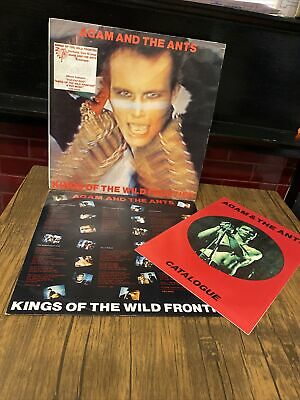"""£10.99 • Buy Adam And The Ants - """"Kings Of The Wild Frontier"""" With Booklet 12 Inch Vinyl LP"""