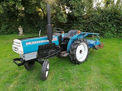 £3600 • Buy Mitubishi D2350 Compact Tractor With Rotavator