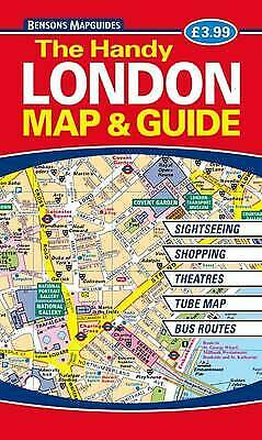 £3.30 • Buy The Handy London Map & Guide Bensons MapGuides Very Good Book