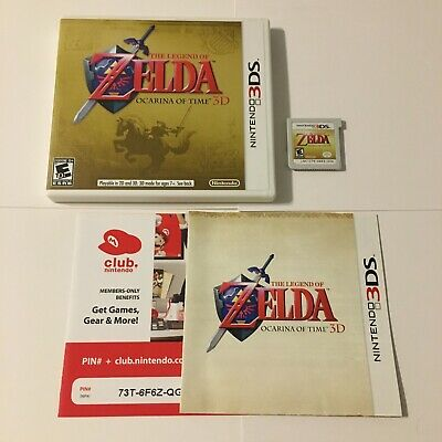 AU40.39 • Buy The Legend Of Zelda: Ocarina Of Time 3D (Nintendo 3DS, 2011) Complete And Tested