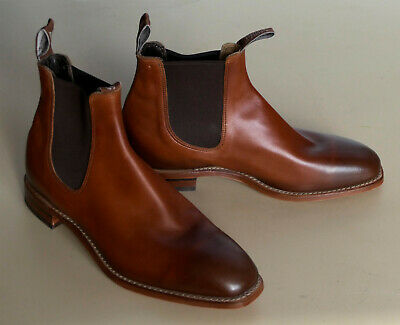 AU495 • Buy RM Williams Burnished Leather Chinchilla  Boots - Size 9G - RRP $795 Save $300