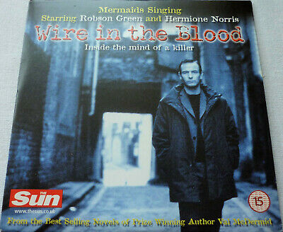 £1.50 • Buy Wire In The Blood TV Episode Mermaids Singing Case 1 Promo DVD Robson Green