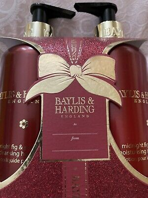£3.50 • Buy Baylis And Harding Duo- * Midnight Fig & Pomegranate *Lotion And Hand Wash * New