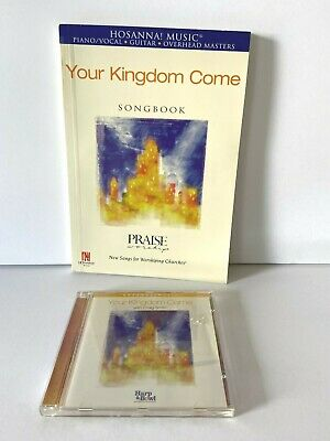£14.51 • Buy Hosanna Your Kingdom Come  Songbook And Music CD Set Praise Worship