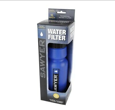 AU53.86 • Buy Water Bottle Filter 34 Ounce Sawyer Products SP140 Personal Portable Container