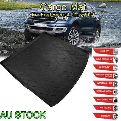 AU45.11 • Buy Heavy Duty Cargo Mat Boot Liner Luggage Tray For Ford Everest SUV 2015 2016-2021