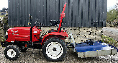 £4850 • Buy Siromer 204 E Compact Tractor And Topper 2018 Machine