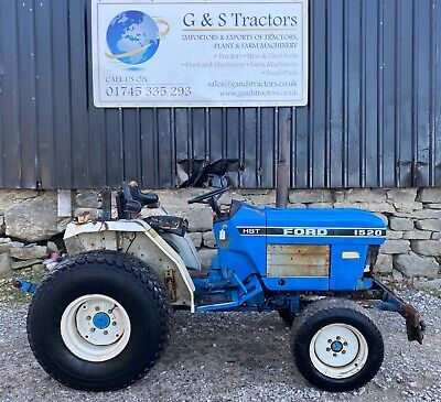 £4250 • Buy Ford New Holland 1520 4WD Compact Tractor